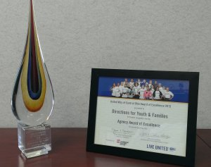 United Way Award for Excellance
